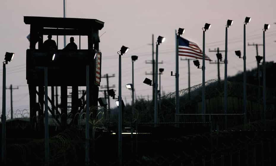 Camp Delta in Guantánamo Bay where the men were held before being released to Bermuda and Albania.