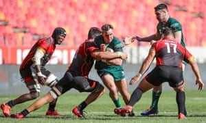 Connacht take on the Southern Kings in a Pro14 match in Port Elizabeth back in March.