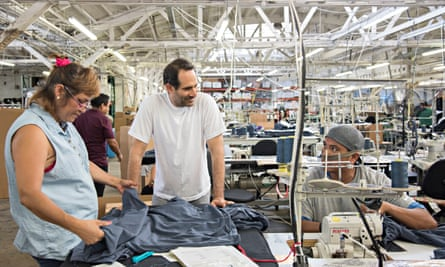 Dov Charney, the ousted former head of American Apparel.