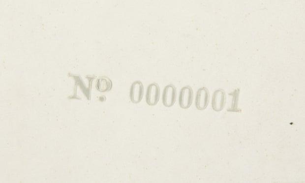 Ringo Starr's first pressing of the Beatles White Album