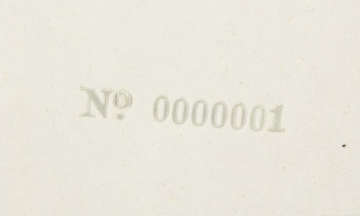 beatles white album serial number price