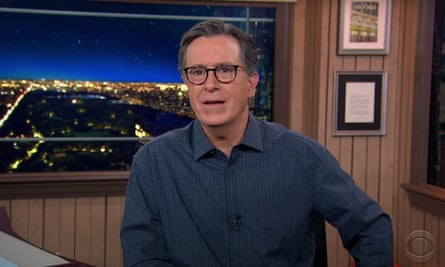 Stephen Colbert on Trump: 'He's like a toddler too hopped up on sugar to go to bed.'