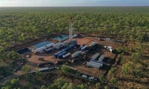 Empire Energy's Carpentaria-1 exploration well at its Beetaloo Basin gas site