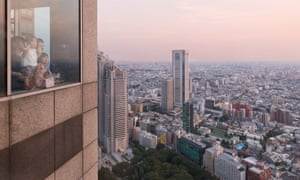 Tokyo metropolitan govemment building observation decks, Tokyo, Japan