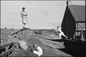 Paul, Stella and James. Scotland, 1982