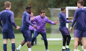 Mauricio Pochettino prepares his players for the match against Watford with Tottenham having lost their last two matches 3-0 and 7-2.