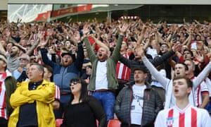 Sunderland play Charlton Athletic at the Stadium of Light, Sunderland, UK, 04 Aug 2018