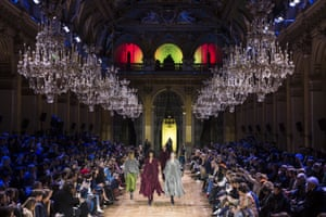 Paris, France: Models walk the runway