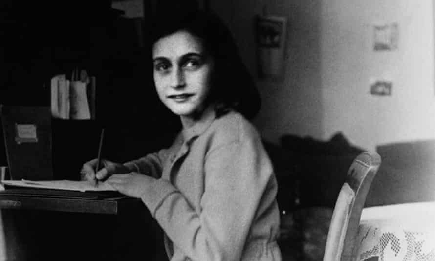 Hand out picture of Anne Frank at her desk in her house at the Merwedeplein in Amsterdam.<br>17 Dec 2004, Amsterdam, Netherlands --- A hand out picture received on December 17, 2004 shows Anne Frank at her desk in her house at the Merwedeplein in Amsterdam. The Amsterdam apartment where Anne Frank began her diary before going into hiding from the Nazis will become a writers' residence, 60 years after she died in a concentration camp. Frank started her diary in the apartment at Merwedeplein in southern Amsterdam in June 1942, weeks before disappearing into the secret annex of a canal-side warehouse in the city during the German occupation in World War Two. EDITORIAL USE ONLY REUTERS/Hand Out  MKN/JV --- Image by     Reuters Photographer / Reuters/Reuters/Corbis