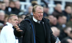 Steve McClaren is scheduled to take training on Tuesday at Newcastle United but crisis talks on his future continue.
