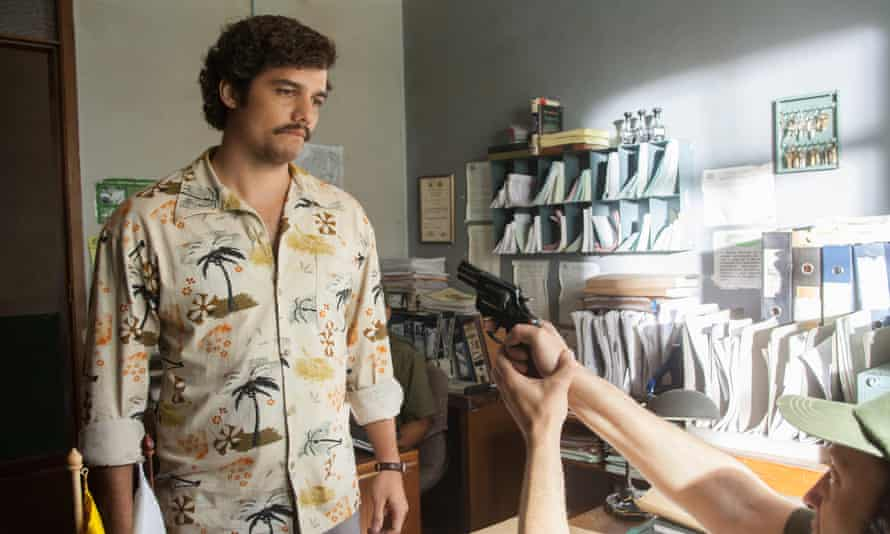Hard to beat: Wagner Moura as Pablo Escobar in the Netflix's Narcos.