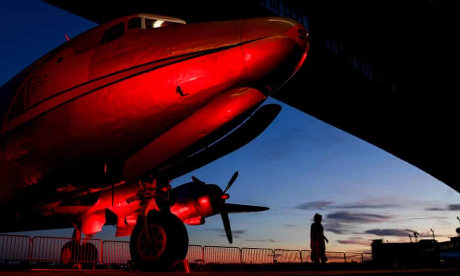A Douglas C-54 Skymaster plane was bound for Montana carrying 44 crew and passengers from Anchorage, Alaska, when it disappeared over Canada.
