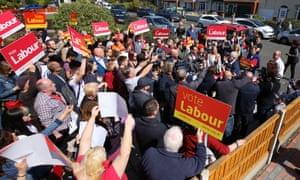 Labour rally
