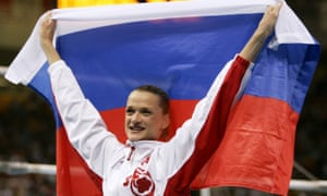 "The Olympic gold medal-winning gymnast, Svetlana Khorkina, cautioned Russian athletes that more ""traps will probably be laid"" for them at the Games in Rio."
