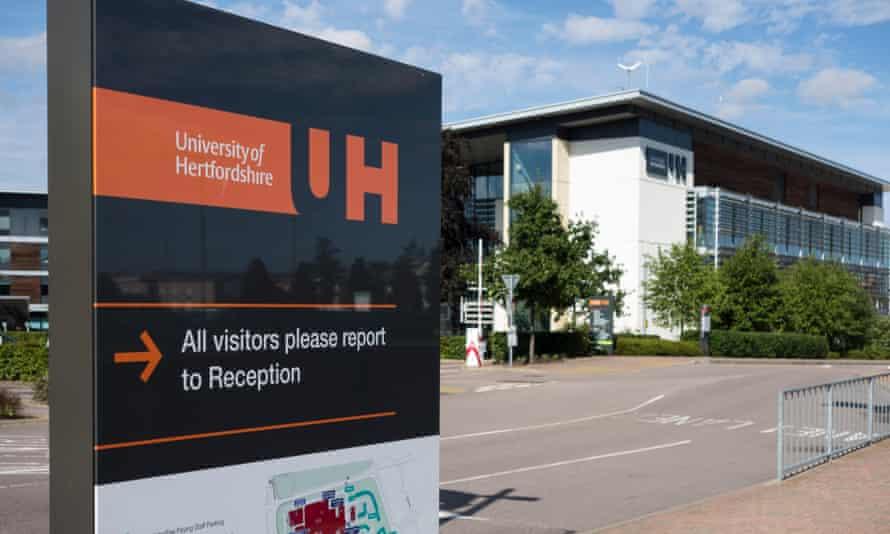 A deserted Hertfordshire campus