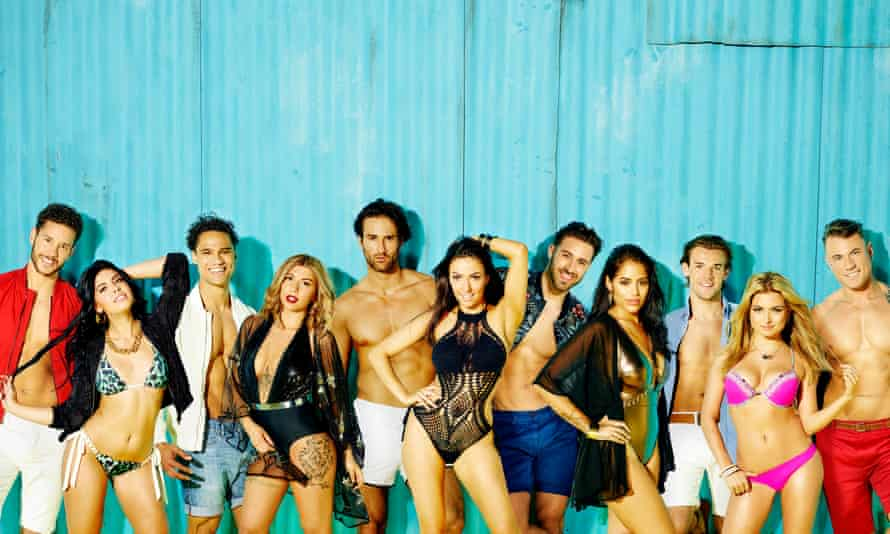 Love Island, whose romantic story arcs are inspired by 'constructed reality'.