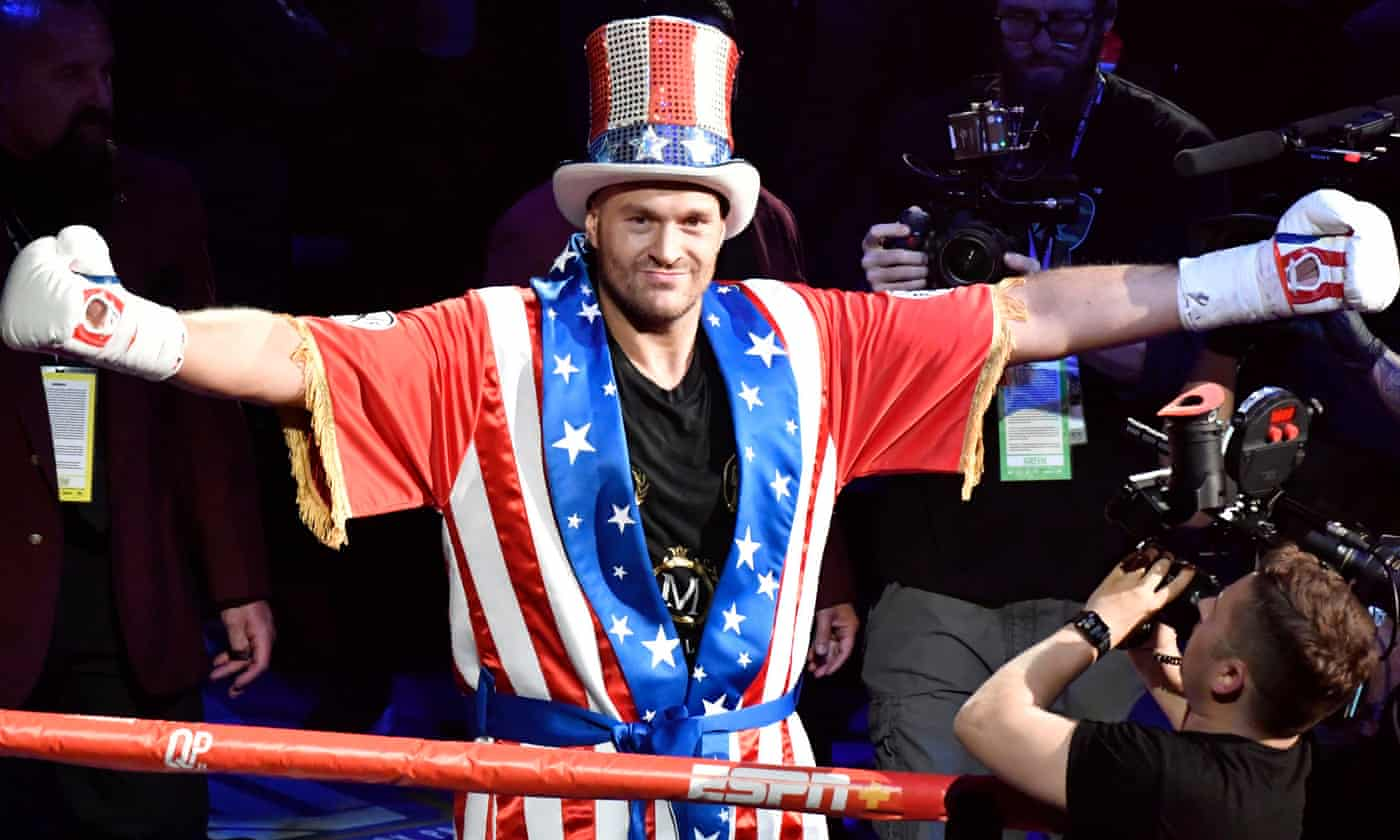 Tyson Fury targets 'biggest fight in world boxing' with Deontay Wilder
