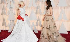 Lady Gaga and Keira Knightley