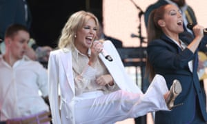 Kylie Minogue at Glastonbury