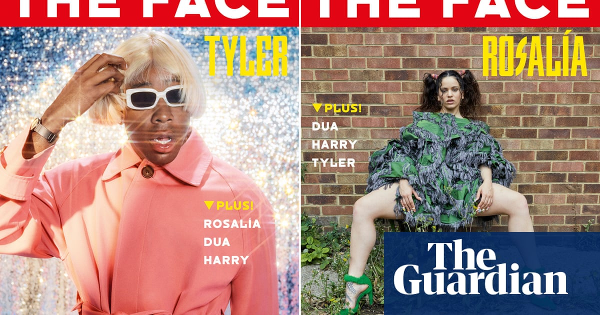 The Face is back in print – with Dua Lipa and Harry Styles among the cover stars