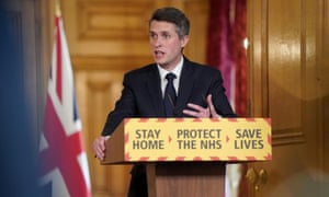 Gavin Williamson announced that the government would be given free laptops and tablets during a coronavirus briefing on 19 April.