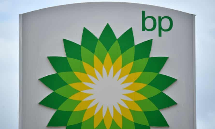 BP petrol and diesel filling station in Hildenborough, south-east of London