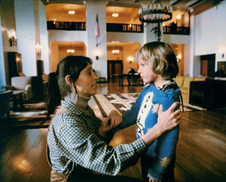 Shelley Duvall and Danny Lloyd in the 1980 film The Shining