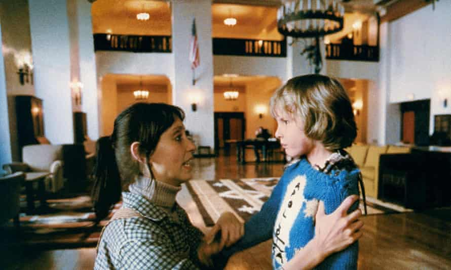 Lloyd with Shelley Duvall.