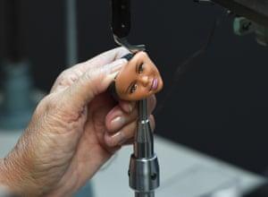 Making a Barbie head