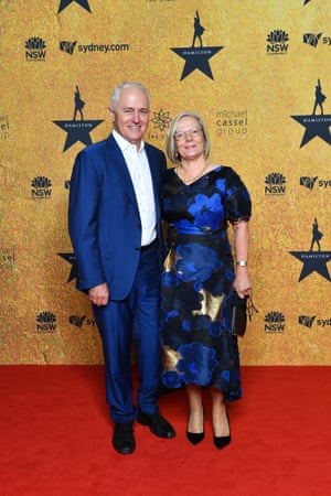 Malcom and Lucy Turnbull.