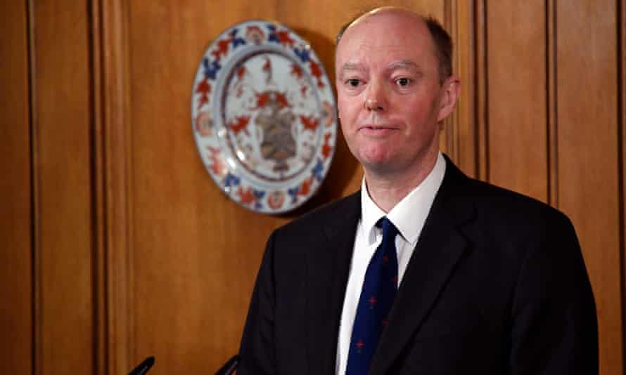 Chris Witty, chief medical officer for England