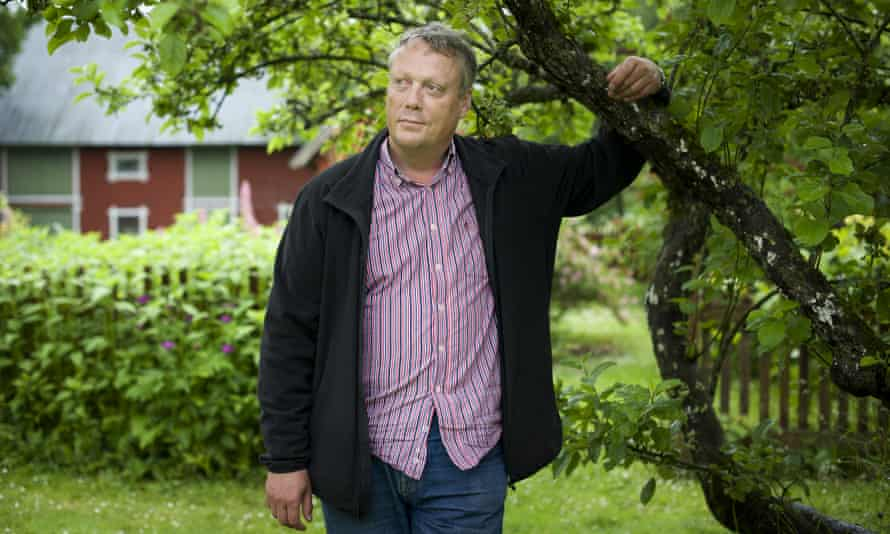 Jonas Jonasson at home in Gotland, Sweden