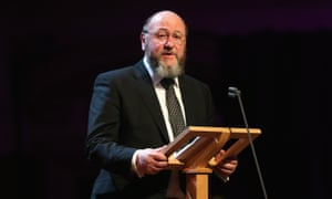 The UK's chief rabbi, Ephraim Mirvis
