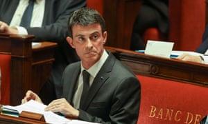 French Prime Minister, Manuel Valls.