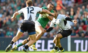 Simon Zebo has been one of many bright points for Ireland but they face bigger tests now in Italy and France.