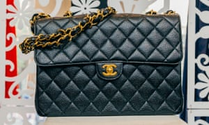 Chanel bag on sale at Michael's consignment store.
