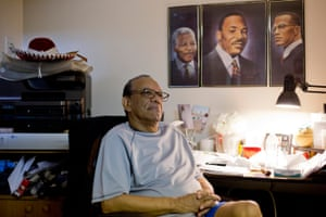 Tim Pegues at home: 'A lot of people don't think $5 is a lot of money. But if you don't have it, it's like a million dollars.'