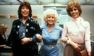 Lily Tomlin, Dolly Parton and Jane Fonda in Nine To Five