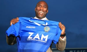 Sol Campbell has signed an 18-month contract at the Football League's bottom club.