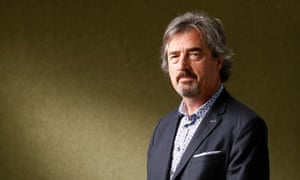 The novelist and playwright Sebastian Barry