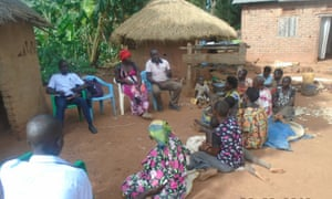 A meeting of the Uganda Community Farm (UCF) in Namisita, a village in a remote part of Kamuli, eastern Uganda.