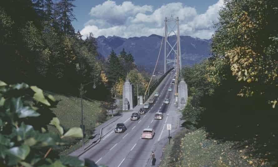 Lions Gate Bridge in Vancouver, British Columbia