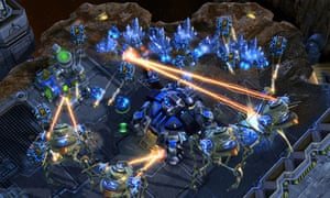 A screenshot from StarCraft II, one of the most popular eSports in the world.