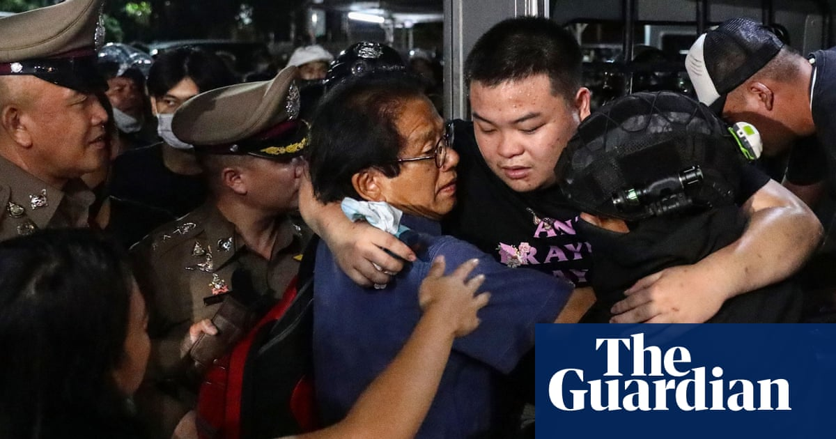 Seven Thai activists face charges of insulting king on eve of mass protest