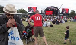 Labour Live at White Hart Lane recreation ground
