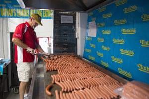 Hot Dog contest