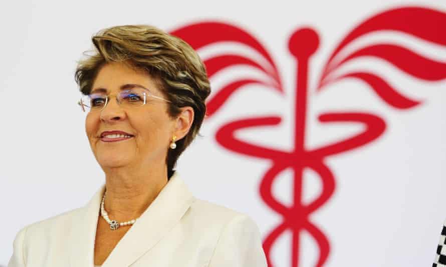 Mexico's Health Secretary Mercedes Juan Lopez