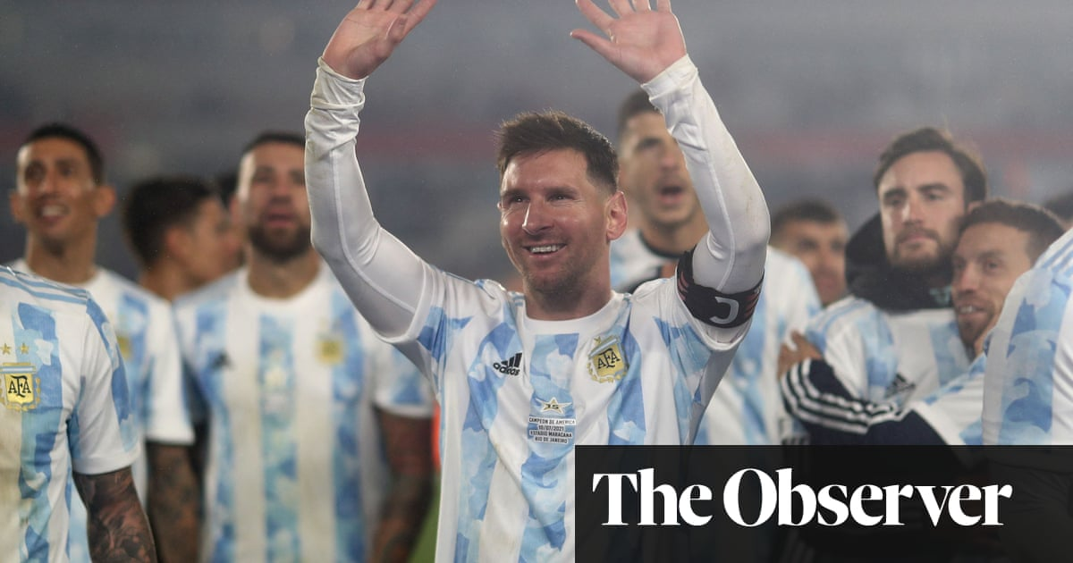 Cry with me, Argentina: teary Messi delights fans and breaks Pelé's record