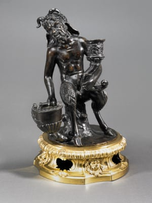 Inkstand with a seated satyr by Studio / Workshop of Desiderio da Firenze, c.1540-50.
