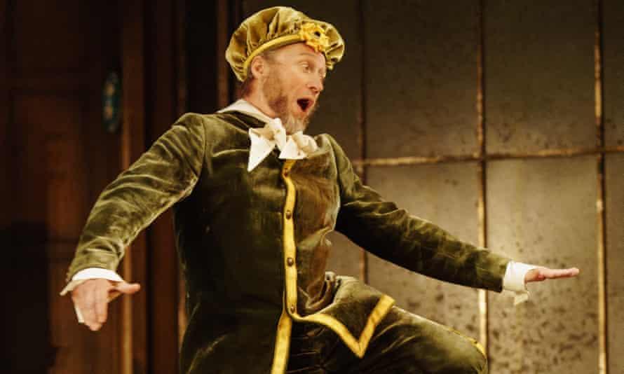It must be love ... Adrian Edmondson in Twelfth Night.